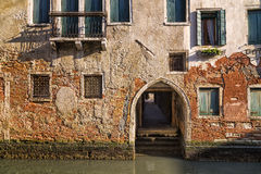 Traditionelles venetianisches Haus Stockfoto
