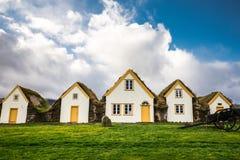 Traditionelles Wikinger-Haus Stockbilder