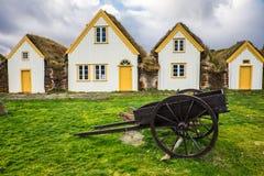 Traditionelles Wikinger-Haus Lizenzfreie Stockfotografie