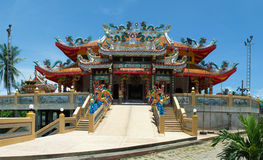 traditionellt asiatiskt tempel Royaltyfri Bild