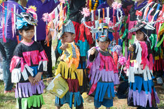 Traditionellt av Phi Khon Nam Festival i Thailand Royaltyfri Bild