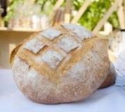 traditionellt bakat bröd nytt Fotografering för Bildbyråer