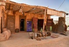 Traditionellt berberhus Fotografering för Bildbyråer