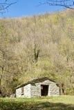 Traditionellt berghus Arkivfoton