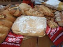 traditionellt bröd Arkivfoto