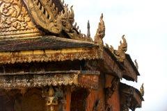 traditionellt buddistiskt tempel Royaltyfri Bild