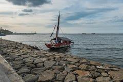 Traditionellt fartyg Fotografering för Bildbyråer