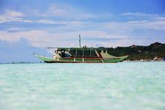 Traditionellt filippinskt fartyg Royaltyfri Fotografi