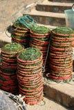 traditionellt fisknät Royaltyfri Fotografi