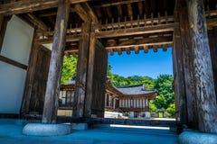 Traditionellt forntida Japan hus Royaltyfri Fotografi