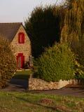 traditionellt franskt hus Arkivbilder