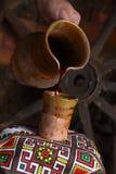 Traditionellt hälla för vin Royaltyfri Bild