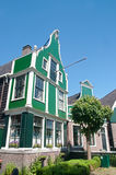 Traditionellt holländskt hus Royaltyfri Bild
