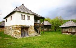 traditionellt hus Fotografering för Bildbyråer