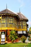traditionellt hus Arkivfoto