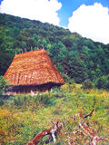 Traditionellt hus Arkivbilder