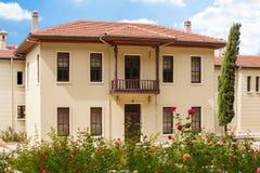 Traditionellt hus för ottoman Arkivfoton