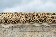 Traditionellt hus i Sicilien Fotografering för Bildbyråer