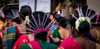 Traditionellt huvudkugghjul som göras ut ur sugrör royaltyfria foton