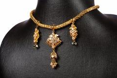 traditionellt indiskt halsband arkivfoton