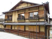 Traditionellt japanskt hus Royaltyfri Bild
