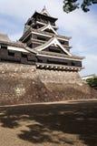 Traditionellt japanskt Kumamoto slott Royaltyfri Bild