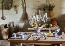 Traditionellt kök i beskickning i Kalifornien arkivbilder