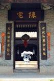 traditionellt kinesiskt hus Arkivbild