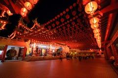 traditionellt kinesiskt tempel Royaltyfri Fotografi