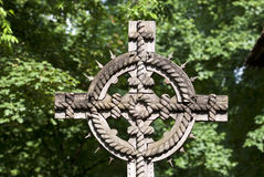 Traditionellt kors Royaltyfri Bild