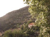 Traditionellt libanesiskt hus Royaltyfria Bilder