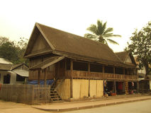 traditionellt lokalt stilhus Royaltyfri Bild