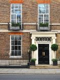 Traditionellt London hus arkivfoto