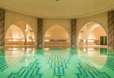 Traditionellt moroccan bad - hammam Arkivfoton