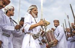 Traditionellt omani sjunga Fotografering för Bildbyråer