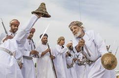 Traditionellt omani sjunga Royaltyfri Fotografi
