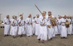 Traditionellt omani sjunga Royaltyfri Foto