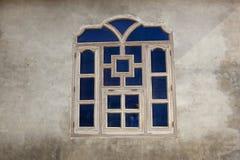 Traditionellt punjabifönster Arkivfoto