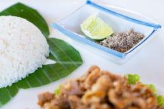 """traditionellt recept för """"LokLak† från Cambodja royaltyfria foton"""