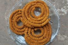 Traditionellt savoury av Indien arkivfoto