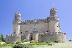 traditionellt slott Arkivbilder