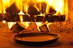 traditionellt stekhett bröd Royaltyfri Bild