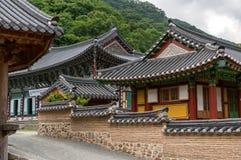 traditionellt tempel Arkivbilder