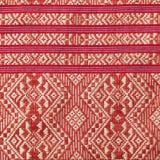 Traditionellt thailändskt tyg Royaltyfri Foto
