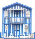traditionellt trä för hus Arkivbilder