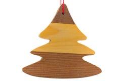 traditionellt trä för julgarnering Royaltyfri Fotografi