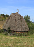 traditionellt transylvanian för hus Fotografering för Bildbyråer