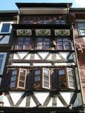 traditionellt tyskt hus royaltyfri foto