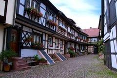 traditionellt tyskt hus Royaltyfri Bild
