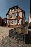 traditionellt tyskt hus Arkivbilder